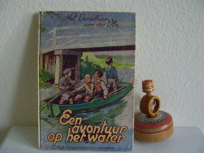 Kinderboekje Een avontuur op het water