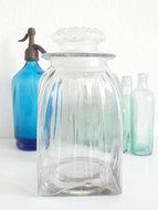Glazen-voorraadpot-*Verkocht*