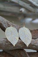 Oorbellen-Leaf-white