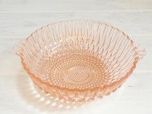Roze-schaal-van-persglas-*Verkocht*