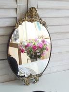 Brocante-spiegel-*Verkocht*